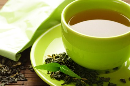drinking green tea is a great way to lose weight