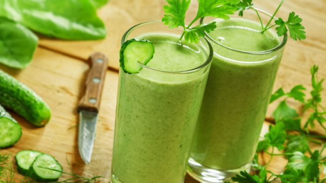 healthy and tasty green weight loss shake