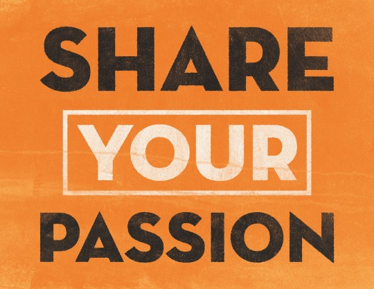 share-your-passion
